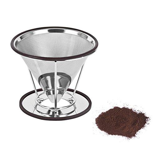 chytaii Kaffeefilter Kaffeemaschine goutteur zu Kaffeevollautomat Permanent wiederverwendbar aus...
