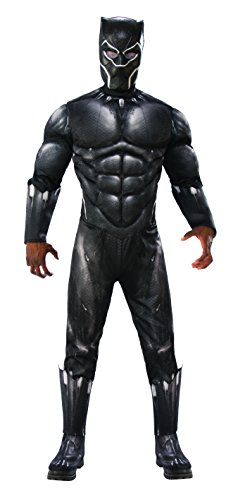 Marvel Avengers Infinity War Black Panther Deluxe Adult Costume - Standard