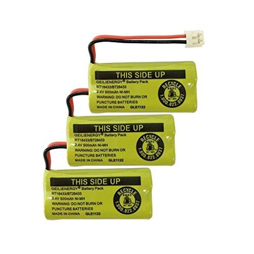 qblpower 2,4V Akku für AT & T und Vtech Handys BT18433BT184342BT28433BT284342bt-8300batt-6010BT1011BT1018BT1022bt103189-1326-00-00/89-1330-01-00/cph-515d Vtech Batt