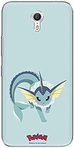 The Racoon Lean printed designer hard back mobile phone case cover for Lenovo Zuk Z1. (vaporeon)