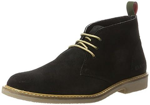 Kickers Tyl, Desert Boots Femme, Noir (Noir Perm), 37 EU