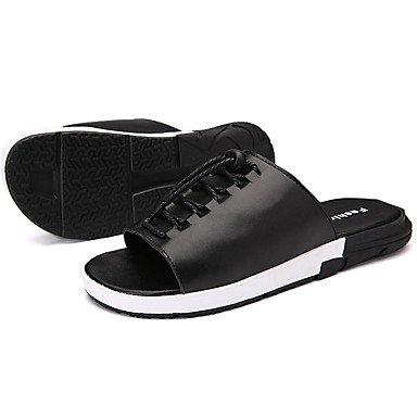 Slippers & amp da uomo;Primavera Estate Autunno Comfort Synthetic Ufficio Outdoor & amp;Career Dress C sandali US6-6.5 / EU38 / UK5-5.5 / CN38