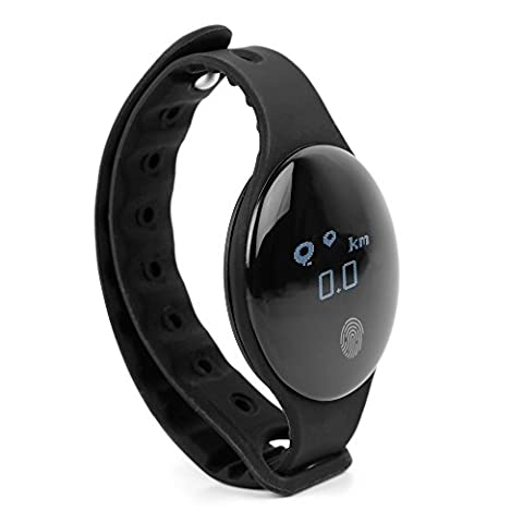 Smart Watch Bracelet Pedometer Calorie Counter Fitness Activity Tracker for ZTE Sonata 3 | Tempo | Warp 7 | Zmax Pro - by DURAGADGET
