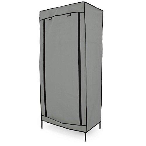 PrimeMatik - Armario ropero guardarropa de Tela Desmontable 70 x 45 x...