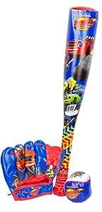 Blaze & Monster Machine - Bate Baseball con un Guante y una Pelota (Saica 2159)