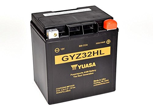 Batteria YUASA gyz32hl, 12V/32ah (dimensioni: 166X 126X 175)
