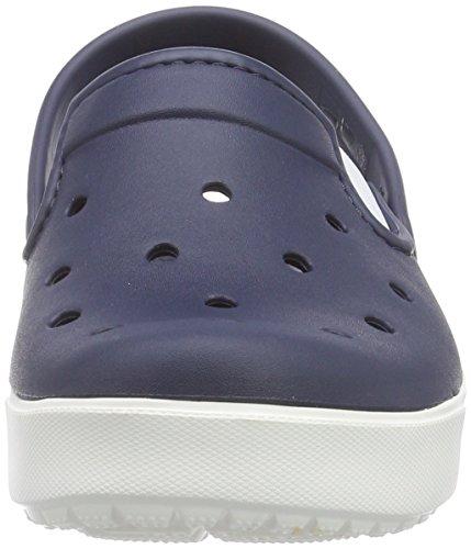 Crocs City Sneaks Slim, Sabots mixte adulte Bleu (Navy/White)