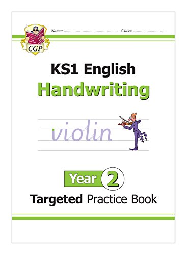 KS1 English Targeted Practice Book: Handwriting - Year 2 por CGP Books