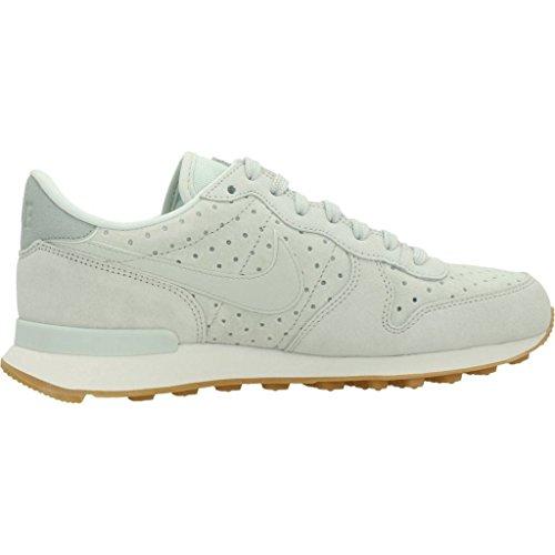 Nike Damen Internationalist Premium Laufschuhe Grau (Barely Grey-Light Pumice 014)