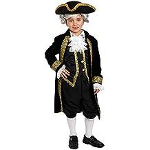 Dress Up America–Disfraz de histórico Alexander Hamilton (Hamilton para niños