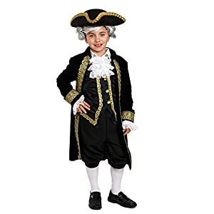 Dress up America-Disfraz de histórico Alexander Hamilton (Hamilton para niños