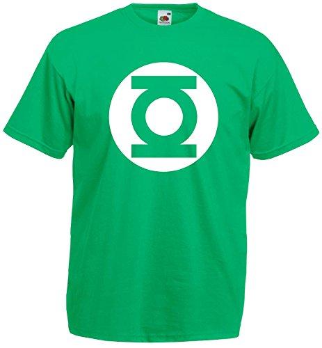 Big Bang Theory Green Lantern T-Shirt S-XXL Cap Polo Club