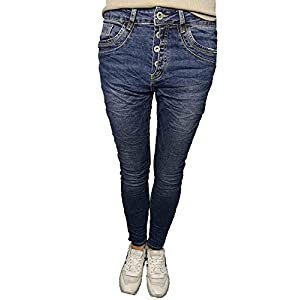 Jewelly by Lexxury Jeans vorne blau