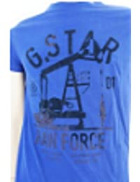 G-STAR Herren T-Shirt Blau Dunkelblau