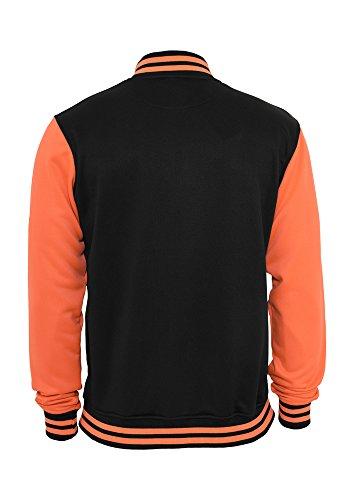 Neon College Jacket black/infrared