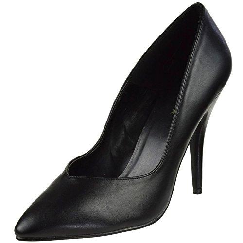 Pleaser Seduce-420V - Sexy High Heels Pumps 35-48, Größe:EU-43 / US-12 / UK-9 Pleaser High Heel Pumps