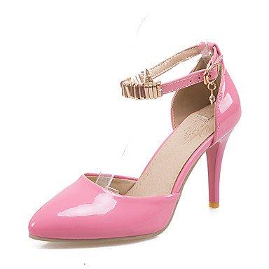 LvYuan Sandali-Matrimonio Serata e festa Formale-D'Orsay-A stiletto-Vernice-Nero Rosa Rosso Bianco Beige Pink