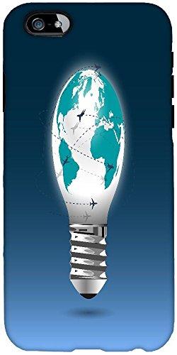 Abdeckung Licht Globe (Snoogg Licht Globe Mit Flying Planes Harte Rückseite Schutzhülle Shield Für A...)