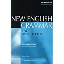 NEW ENGLISH GRAMMAR FOR BACHILLERATO TCH+TEST YOURSELF+CD