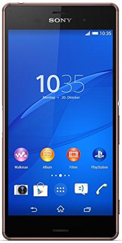 Sony Xperia Z3 - Smartphone libre Android  pantalla 5 2   c  mara 20 7 Mp  16 GB  Quad-Core 2 5 GHz  3 GB RAM   marr  n