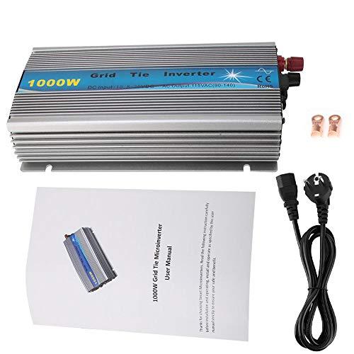 Wasserdichter Solar Wechselrichter, 1000W Solar Wechselrichter Power Converter MPPT Solar Power Inverter(GTI-1000W-18V-220V)