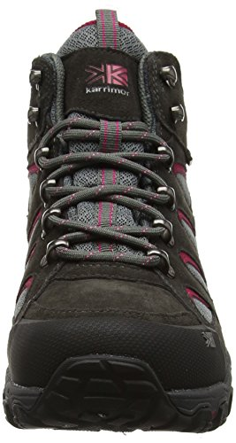 Karrimor Bodmin Mid 5 Ladies Weathertite Uk 8, Scarpe da Arrampicata Donna Grigio (Dark Grey)