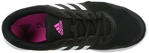 adidas Essential Fun 2, Scarpe da Corsa Donna Nero (Core Black/ftwr White/shock Pink)