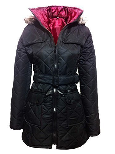girls-black-coat-jacket-quilted-hooded-school-clothing-age-5-6-7-8-9-10-11-12-13-excellent-quality-a