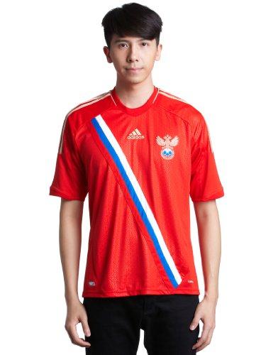 adidas Kinder T-Shirt Fußballschuh L Russland (Russland) (Euro-2012-trikot)
