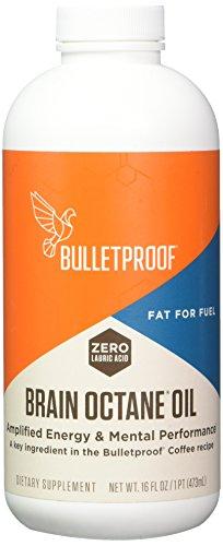 Bulletproof Upgraded Brain Octane Oil (16oz, 473 ml)