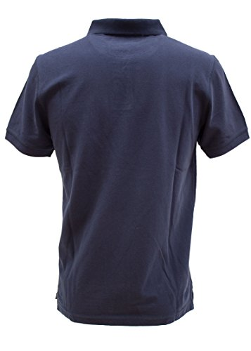 TOM TAILOR Herren Poloshirt Polo with Small Chest Artwork blau (black iris blue 6740)