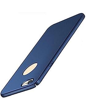 Funda iPhone 6/6s 4,7 pulgadas Teryei® alta calidad ultra fina Protector completo PC carcasa Shell Negro Cáscara...