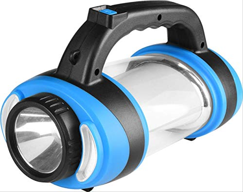 YAYA Aufladen Led Camping Licht Outdoor Camping Barbecue Multifunktions Horn Zelt Lampe blau