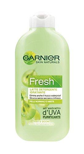 Garnier Fresh Latte Detergente Idratante per Pelli Normali o Miste, 200 ml