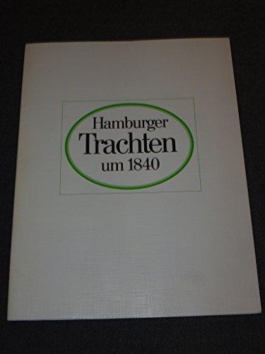 Hamburger Trachten um 1840.