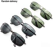 Fashion Polarized Pilot UV400 Protection Glasses Men Women Driving Eyeglasses for Outdoor Travel