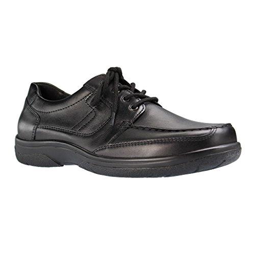 WALDLÄUFER Kevin 664006 141 001 Herren Businessschuh - Schuhe in K-Weite, Farben:Schwarz;Größe:43;Weite:K