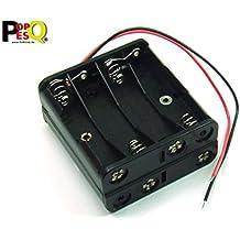 Kahlert 60893 batteriebox con interruptor para 2 x 1,5 V pilas AA nuevo//en el embalaje original *