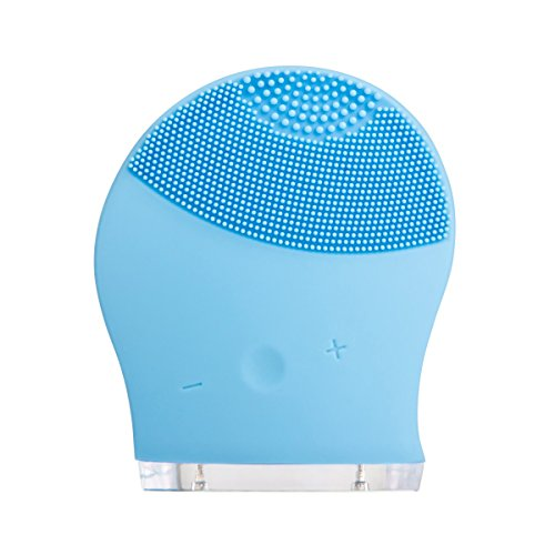 beawelle Spazzola per la Pulizia del Viso Anti Aging Silicone Impermeabile Elettronico Vibration Cura e Pulizia Della Pelle Massaggiatore Vibrante