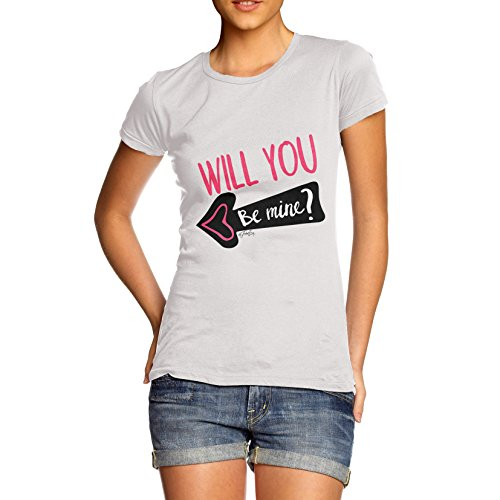TWISTED ENVY  Damen T-Shirt Weiß