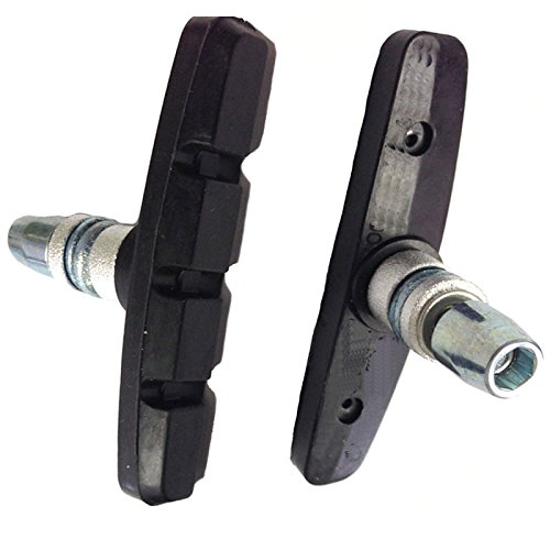 Ultimate Hardware Threaded and Nutted Bike Brake Pads (Pair)