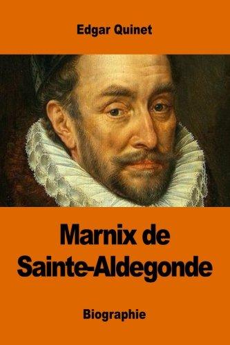Marnix de Sainte-Aldegonde par Edgar Quinet