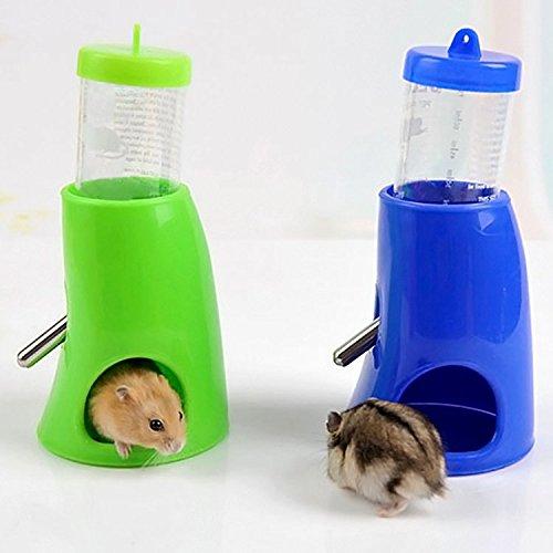 bluemoo New 2in 1Pet Wasser Fläschchen Futterspender für Hamster Ratten Gerbils Mäuse Meerschweinchen Kaninchen Kleine Tiere -