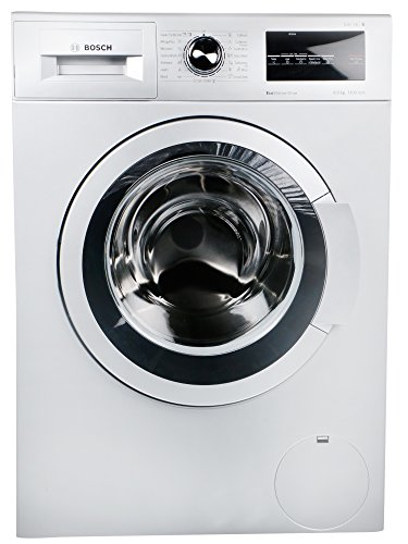 Bosch 8 kg Fully-Automatic Front Loading Washing Machine (WAT24168IN, Silver)