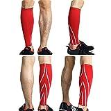 1Pcs Calf Compression Sleeves für Männer & Frauen - Bein und Shin Compression Sleeves für Läufer, Radfahrer - Shin Splint, Durchblutung und Recovery Aid