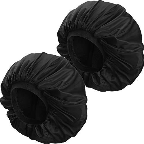 2 Piezas Gorro Dormir Satén Extra Grande Sombrero