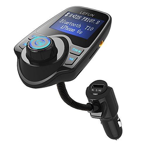 lefun-fm-transmitter-bluetooth-car-kit-with-hands-free-call-charging-streaming-music-for-smartphones