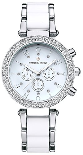 timothy-stone-womens-desire-silver-tone-and-white-watch