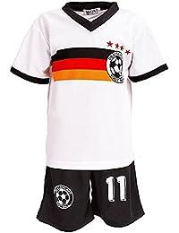 Unbekannt Fussball Fan Set Deutschland Germany Trikot + Shorts JS78e