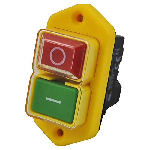Einbauschalter - Nullspannungsschalter 230V KEDU KJD17 B mit Unterspannungsauslöser und ausgeführtem spulenkontakt